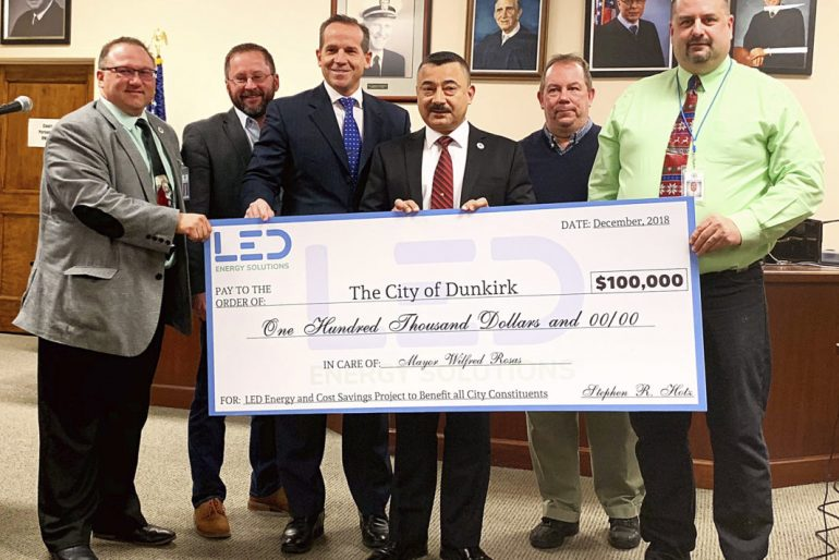 LEDproject moves ahead, Dunkirk gets more grants